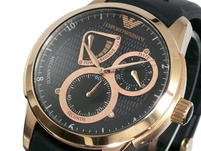 new emporio armani mens black rose gold watch ar4619 new emporio armani mens black rose gold watch ar4619 0 product stars £184 99