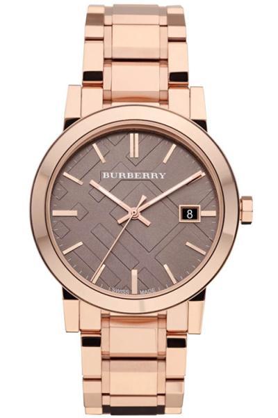 Burberry Bu9005 Ladies Rose Gold Tone Bracelet Watch
