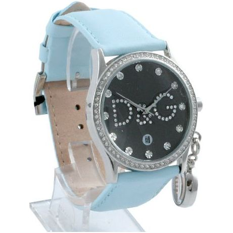 d g gloria baby blue leather and womens dw0010