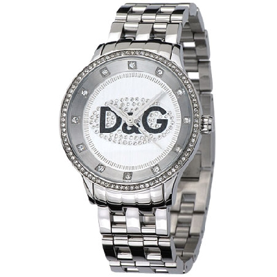 D&G DW0145 Dolce & Gabbana PRIME TIME Crystal Unisex Watch