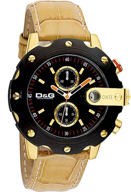 D&G DW0363 Dolce & Gabbana SEAN Mens Chronograph Designer Watch