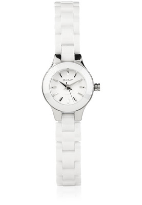 Dkny Ny8644 Women S Quartz White Ceramic Watch