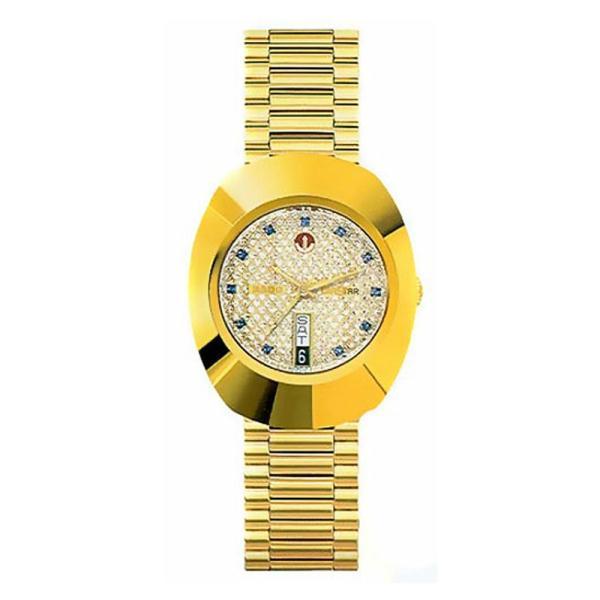 rado r12413313 original diastar gents gold