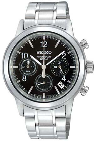 seiko chronograph watch instructions
