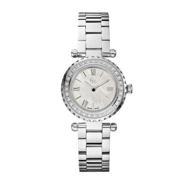 Guess Ladies Gc Mini Chic Diamond Watch X70105l1s