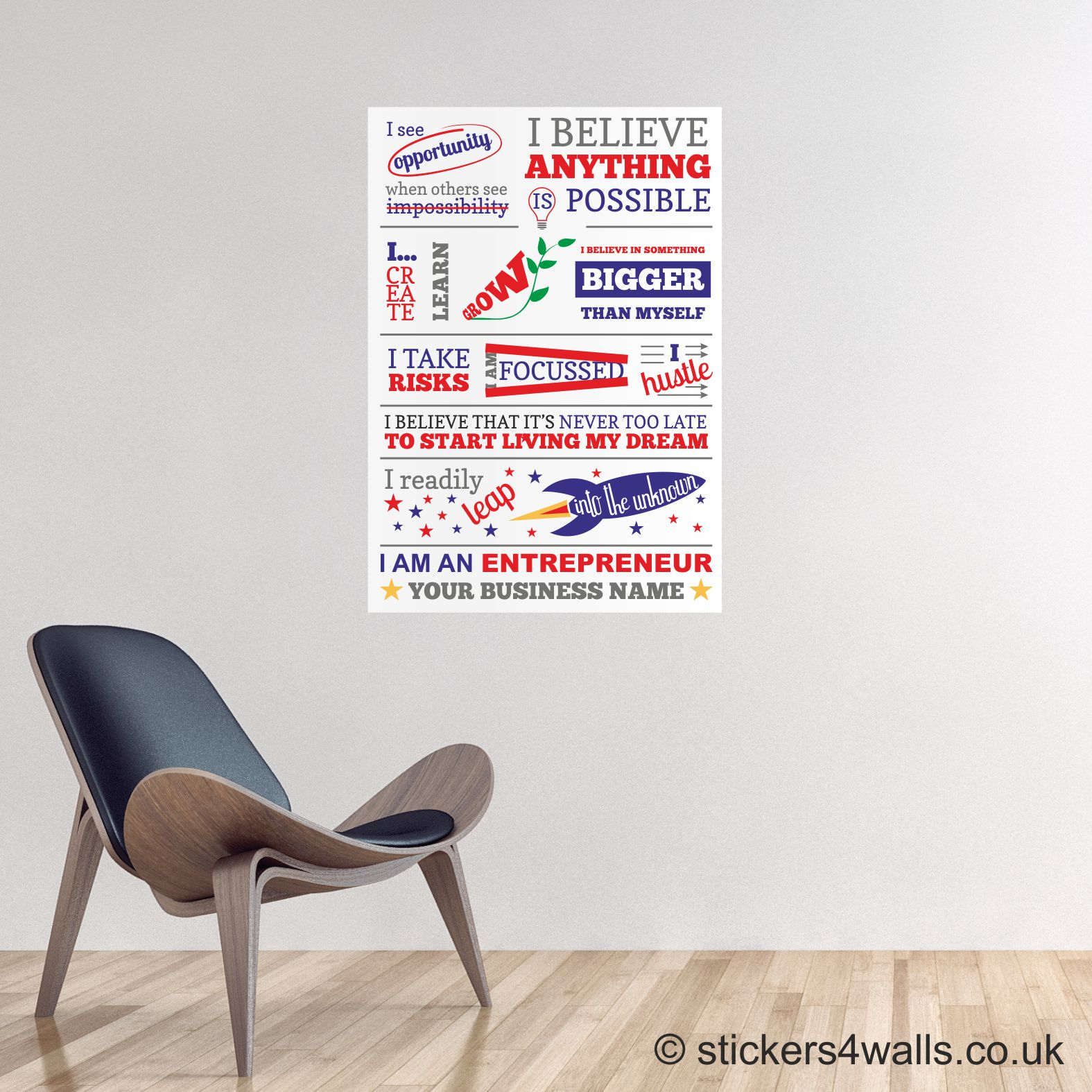 office wall pictures. Entrepreneur Wall Graphic - Office And Business Sticker Pictures 0