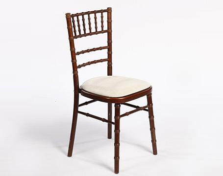 sc 1 st  Valley Furniture Hire & Dark Wood Mahogany Chiavari Chair hire