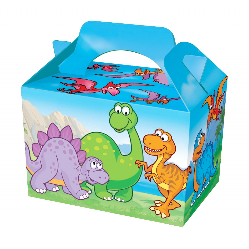 50 X Dinosaur Food Boxes