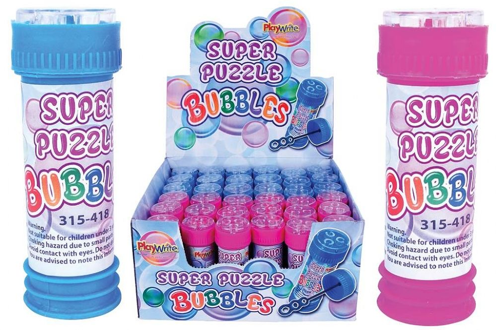 36 x Deluxe Puzzle Bubble Tubs 50ml