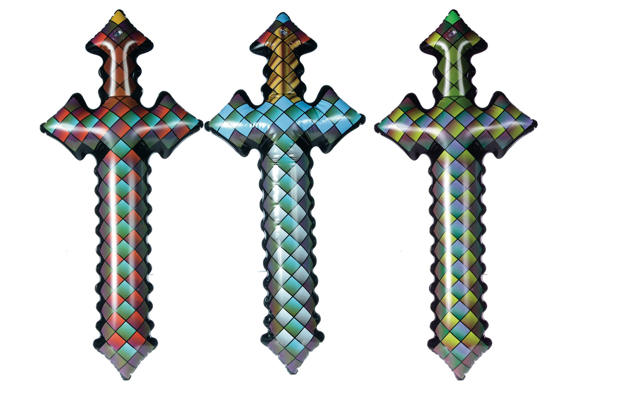 offer ended closed minecraft style inflatable swords from risus