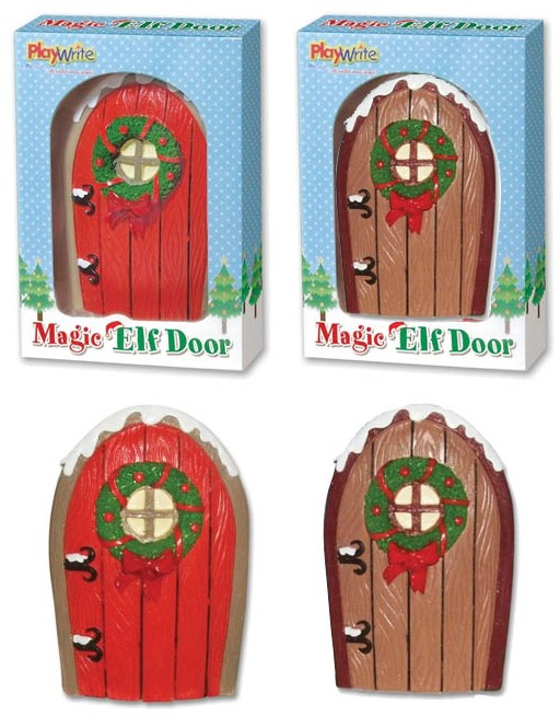 11cm hand painted poly-resin Magic Elf Door. Place it in the garden or round the house to create a portal to the North Pole! 2 assorted colours red and ...  sc 1 st  The Wholesale Forums & Stock Offer - Magic Christmas Elf Doors from Risus Wholesale | The ...