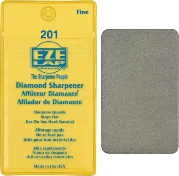 Eze Lap Credit Card Fine Diamond Sharpener 201