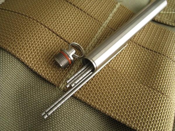 Titanium Toothpick Capsule