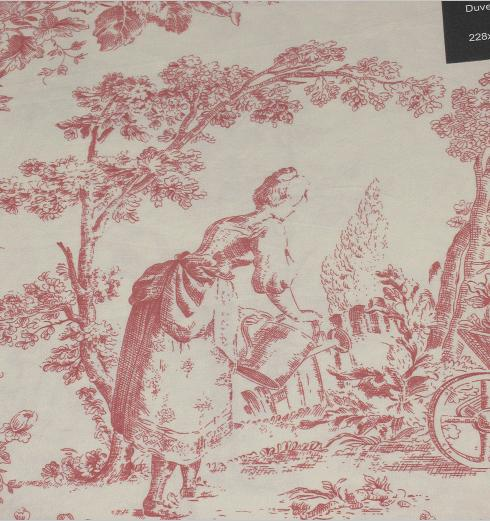toile de jouy curtains at. Black Bedroom Furniture Sets. Home Design Ideas