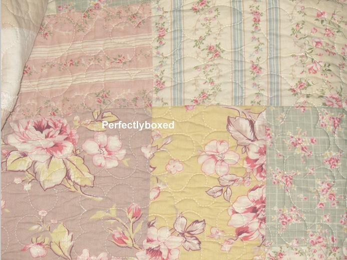 Vintage Floral Patchwork Quilts Camille www.perfectlyboxed.com : flower patchwork quilt - Adamdwight.com