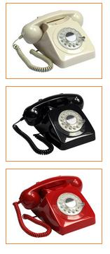 Gpo 746 Telephones Black Rotary Dial Www Perfectlyboxed Com