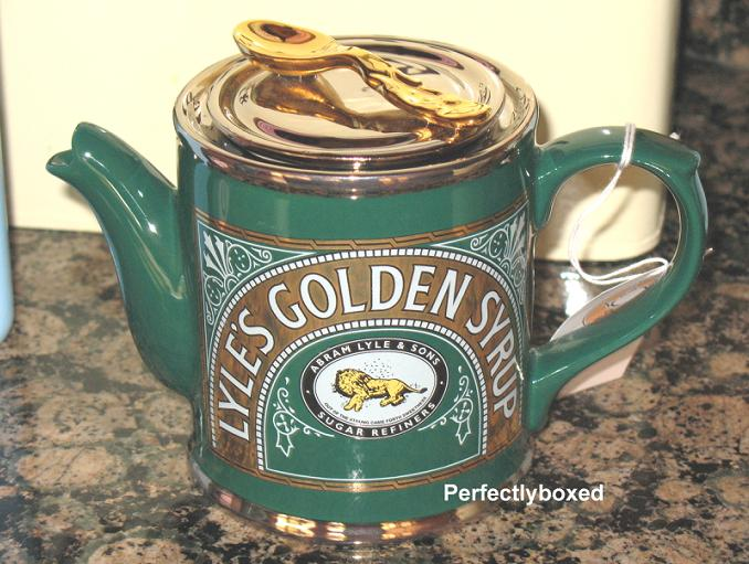 Tate Lyle Golden Syrup Teapots Www Perfectlyboxed Com
