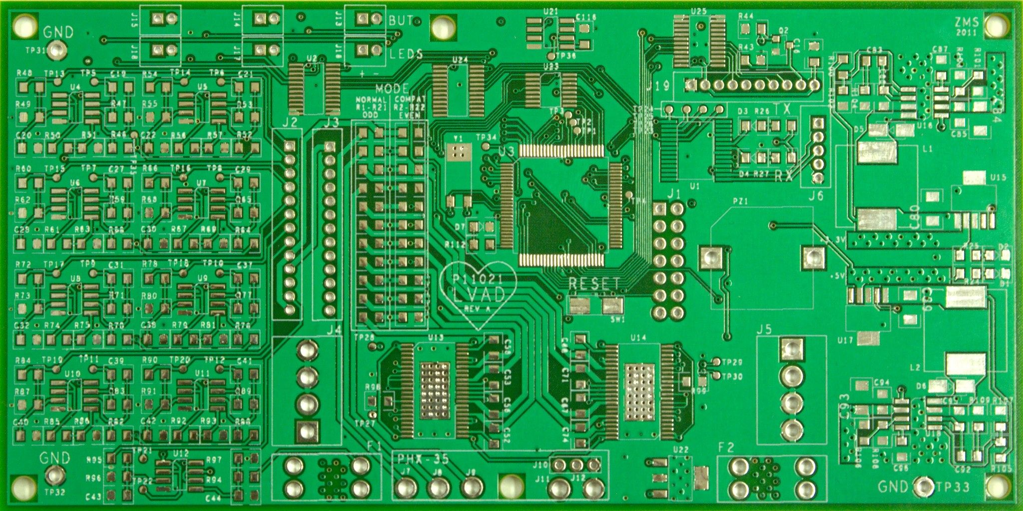 2 Layer Pcb 100x100mm High Quality Printed Circuit Board Circuits For Sale