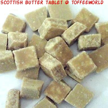 how to make scottish tablet hearts