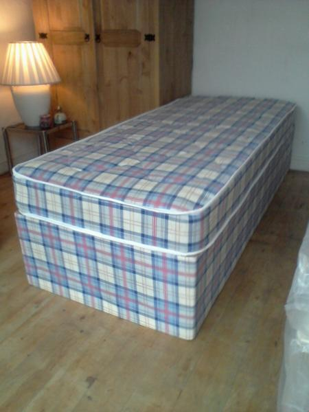 Standard single bed for Cheap single divan