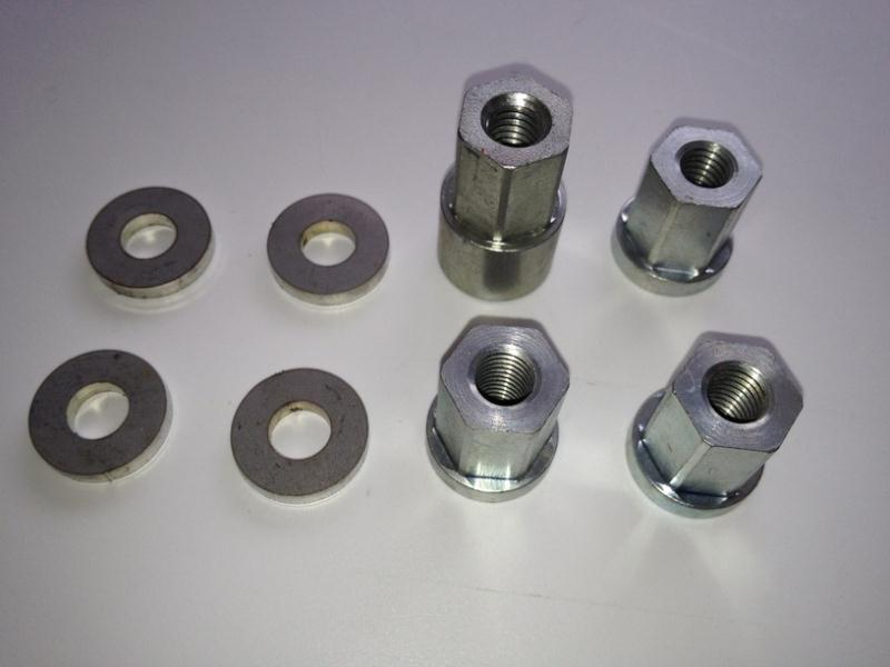 Hydraulic Cylinder Spacer : Cylinder stud nut spacer washer kit mb