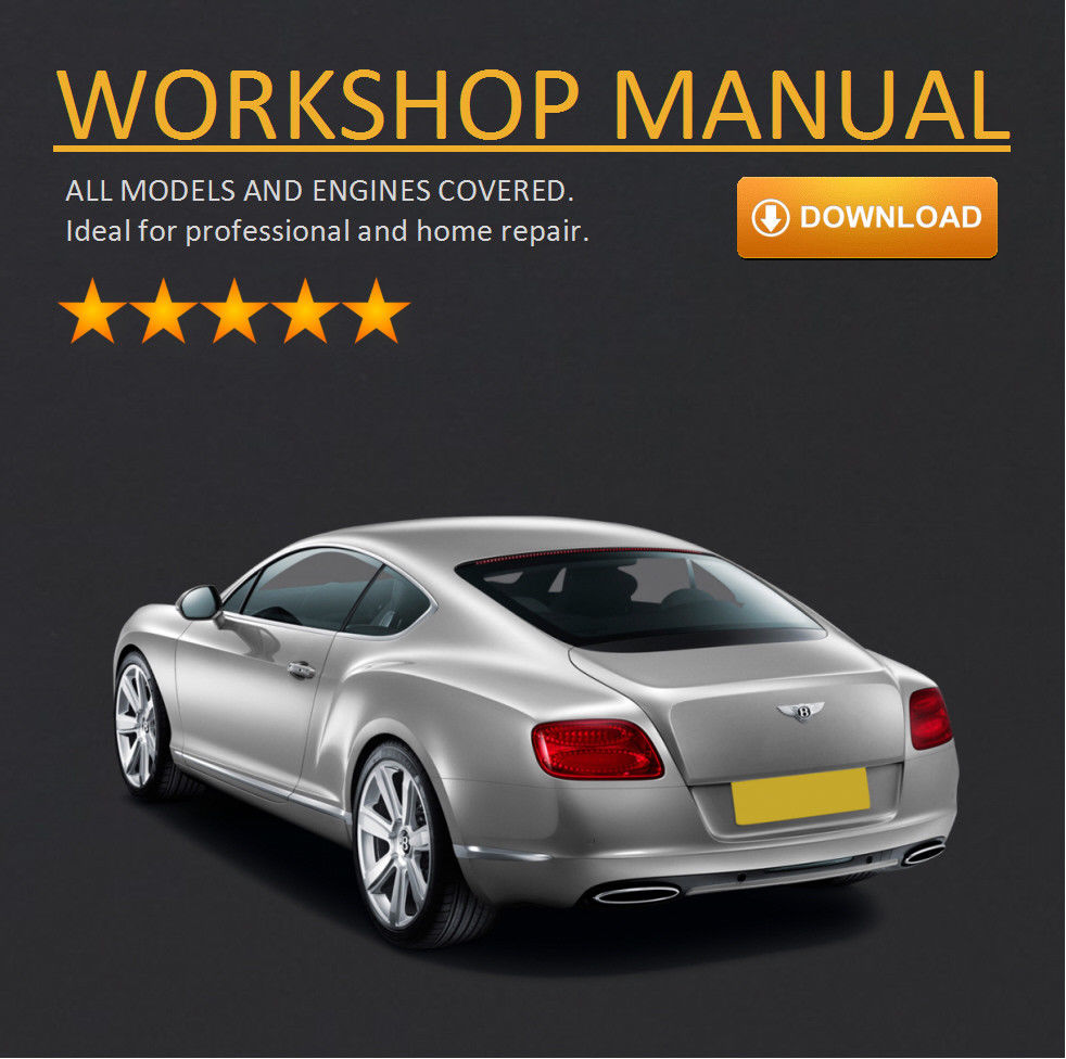 Bentley Continental Workshop Manual For Gt Gtc Flying Spur Multi Wiring Diagram Language