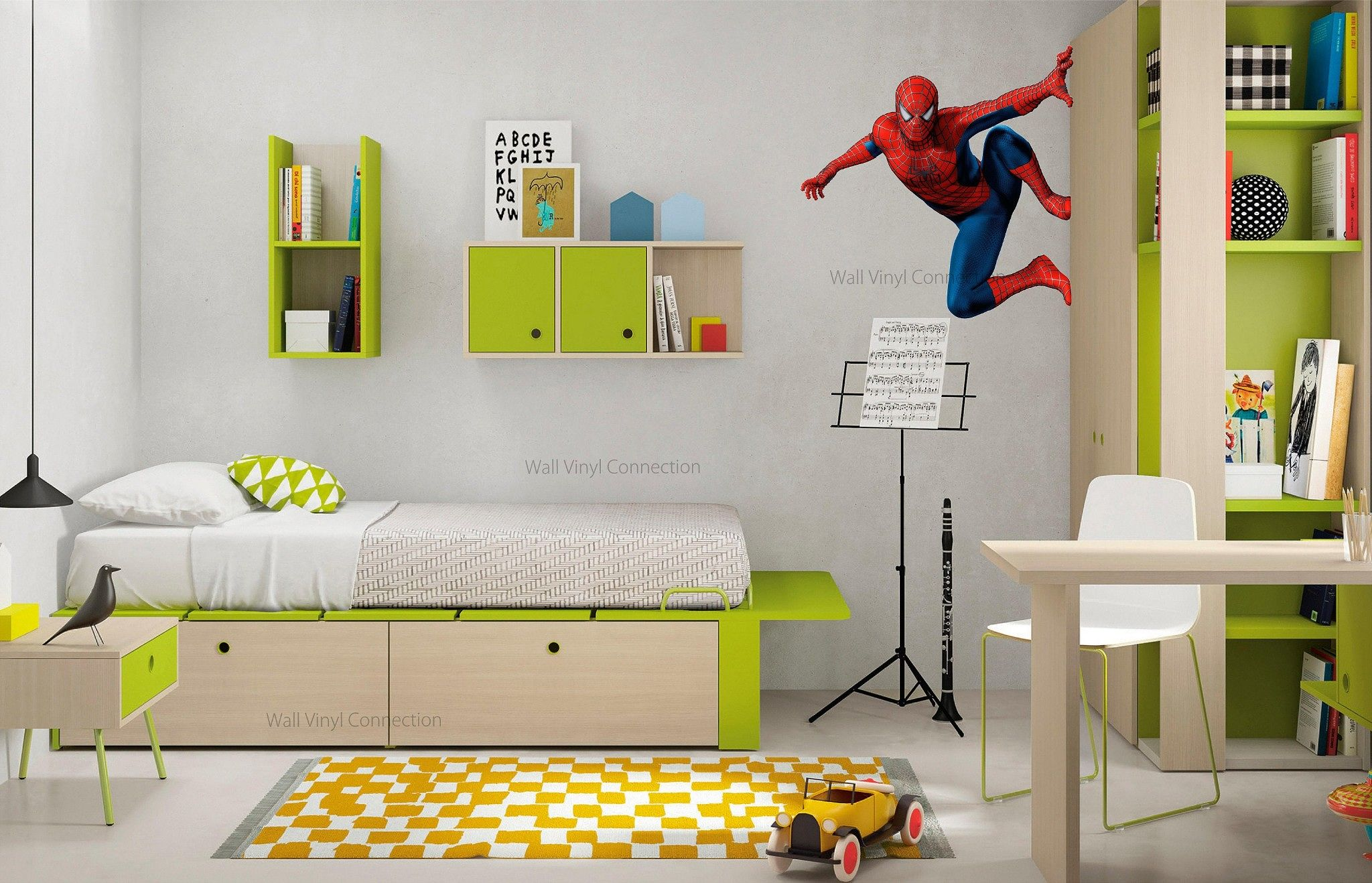 Wall Vinyl Connection