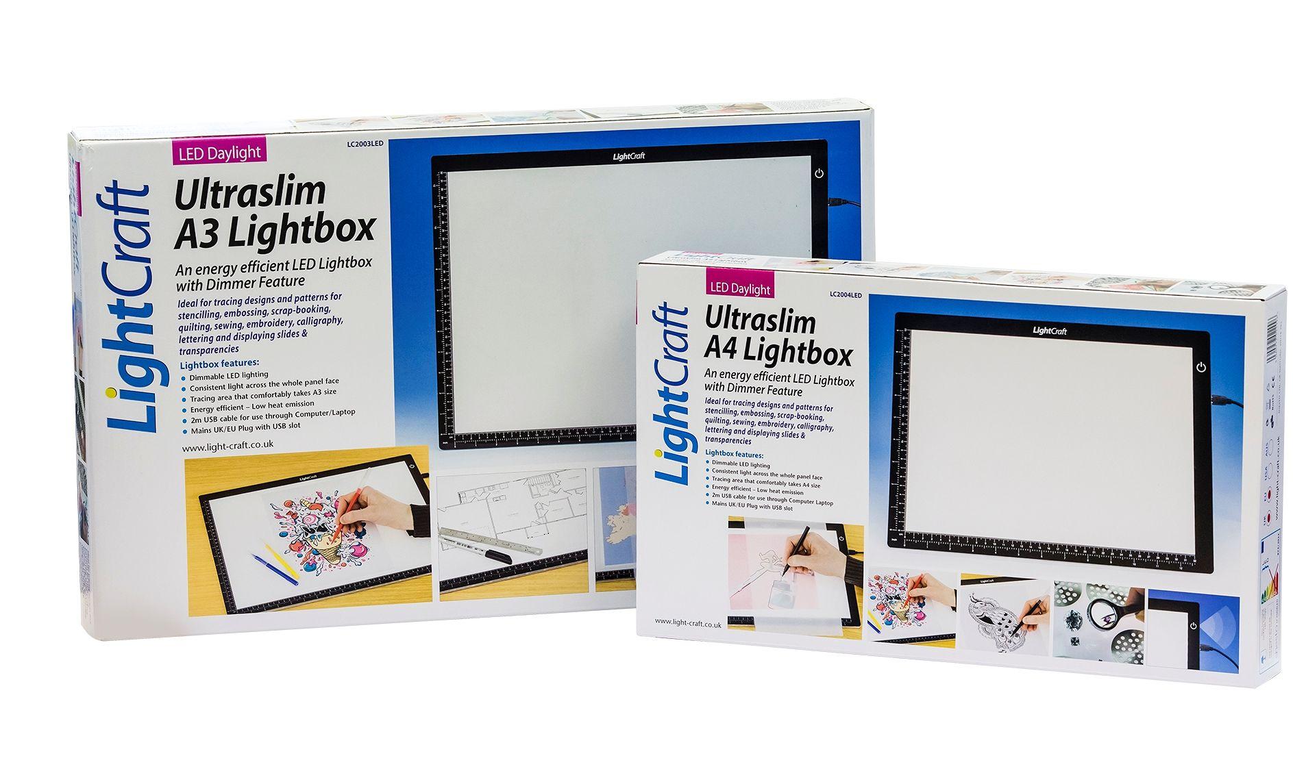 lightbox led square artsup art artlogic light products supplies box