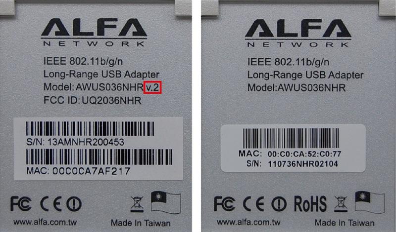 Продам новый Wi-Fi адаптер Alfa AWUS036NHR v.2 Идеальный адаптер для взлома WI-FI сетей. Новинк