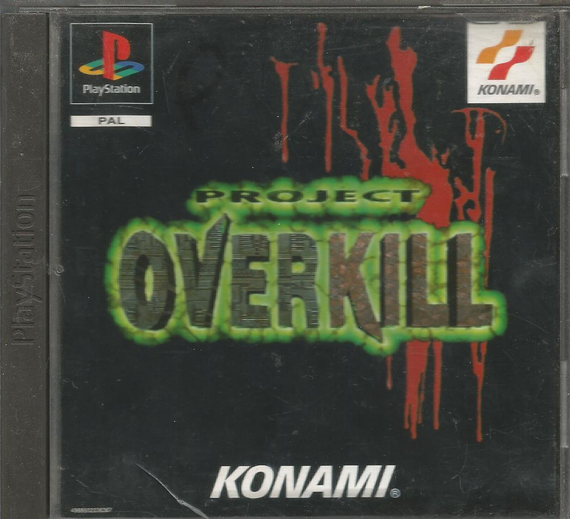 """project overkill Four ruthless mercenaries over 50 mission scenarios multiple main weapons, or hand-to-hand combat, as egm magazine said: """"death, carnage, large weaponry."""