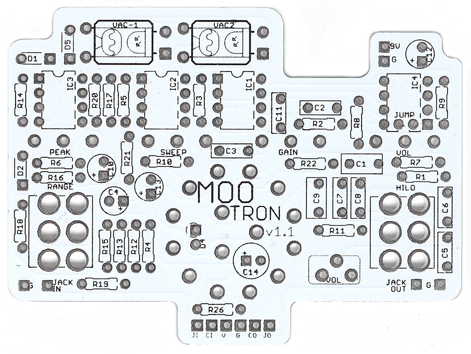 Moo-Tron Auto Filter PCB