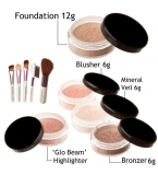 10 piece Bare Skin Minerals mineral makeup start..