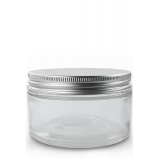 10pcs Jars with Aluminium Lids 150ml PET