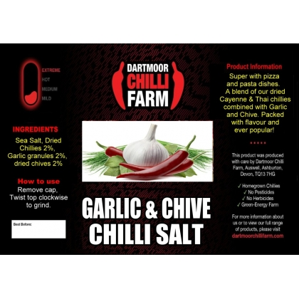 Garlic & Chive Salt