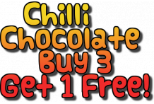 4 for 3 Chilli Chocolate