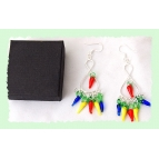 Chilli Earrings Details