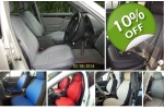 fits Mercedes E-Class leatherette custom two front car seat covers