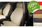 fits Mercedes C-Class front & rear Custom Leatherette Seat Covers