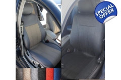 fits Mercedes E-Class Synthetic two front car se..