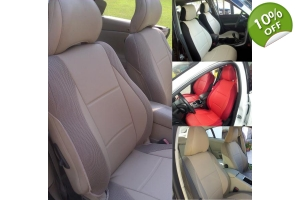 leatherette custom front car seat covers fits on Volvo seats