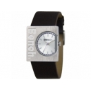 Bench Ladies Silver Dial Brown Logo St..