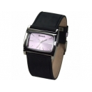 Bench Ladies Lilac Dial Black Leather ..