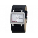 Bench Mens Silver Dial Black Textured ..