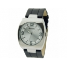 Bench Mens Silver Dial Black Leather S..