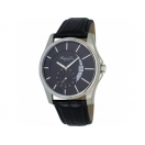 Kenneth Cole KC1600 Black Leather Stra..