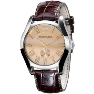 Emporio Armani AR0645 - Mens Leather Strap Watch