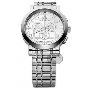 Burberry Watch Silver Stainless Steel Gents BU1384