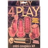VIBRATOR KIT - with 4 sleeves!