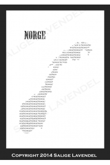 Norge print
