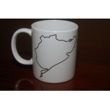Nurburgring printed 11oz ceramic mug
